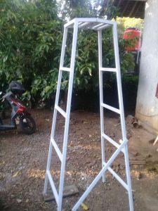 tangga lipat full galvanis