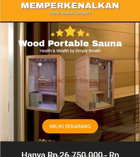 jasa pembuatan sauna